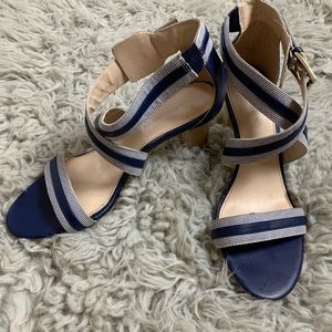 Tommy Hilfiger Navy open toe strappy Sandals